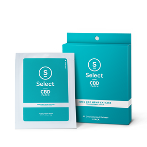 Select CBD Infused Patch 20mg - 3pack