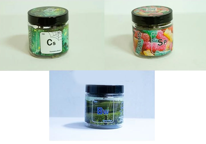 Hemp Flower 7 Gram Jar Sampler Pack-Lift Gift