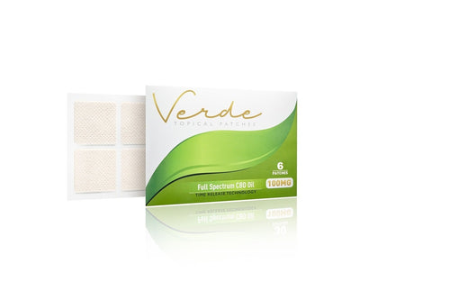 Verde Topical Patches 100mg ( 6 patches )-Lift Gift