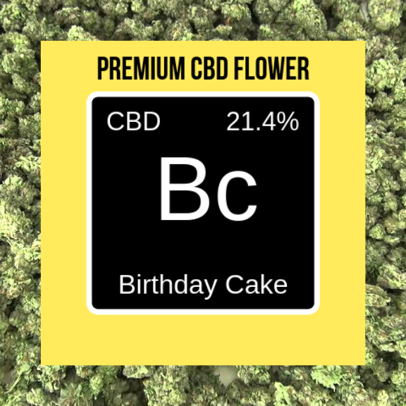 Birthday Cake Hemp Flower - BULK-Lift Gift