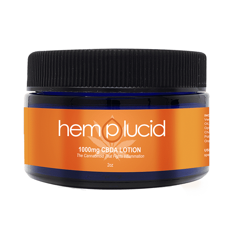 Hemplucid CBDA Body Lotion 1000mg-Lift Gift