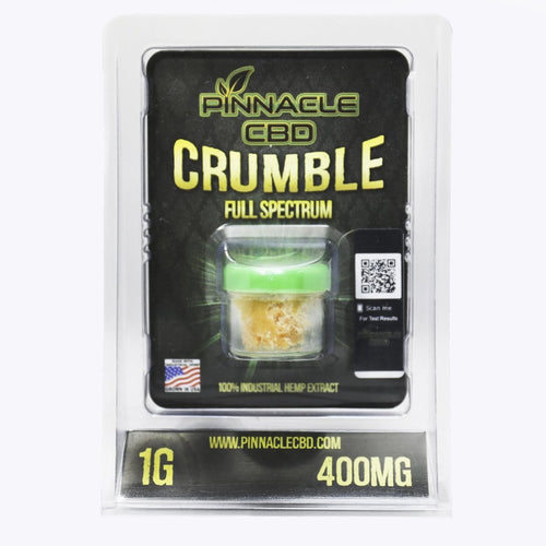 Pinnacle Hemp CBD Crumble 400mg/1gram-Concentrates-Lift Gift