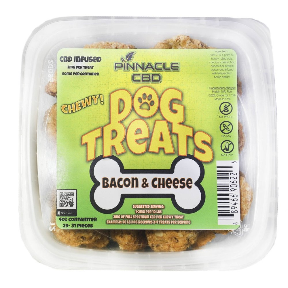 Pinnacle CBD Dog Treats 4oz 60mg-Lift Gift