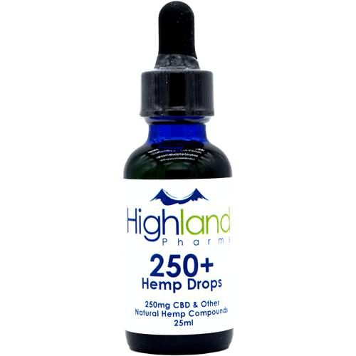 Highland Pharms 250mg CBD Hemp Oil – 1oz-Lift Gift
