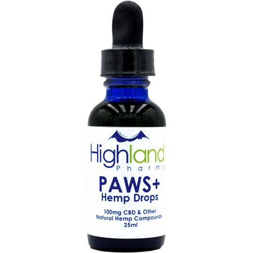 Highland Pharms CBD PAWS (CBD Oil for Pets)-Lift Gift