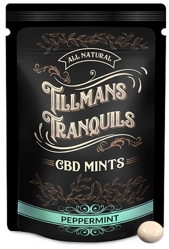 CBD MINTS - SINGLE PACK - GLUTEN FREE