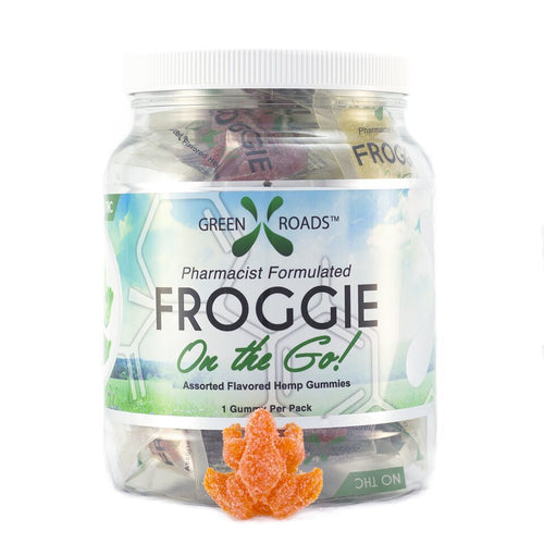 Green Roads World On The Go Froggies - 30 count-Lift Gift