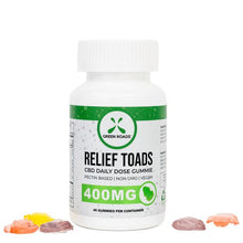 Load image into Gallery viewer, Green Roads World Extra Strength Relief Toads 400mg-Lift Gift