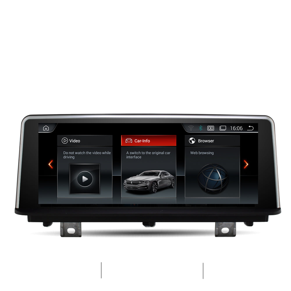 "Ecran tactile Autoradio Station Multimédia Navigation GPS 8.8 "" pour BMW Série 1/ série 2  F20 F21 F22 VERSION Qualcomm OCTA-CORE Android 10.0"