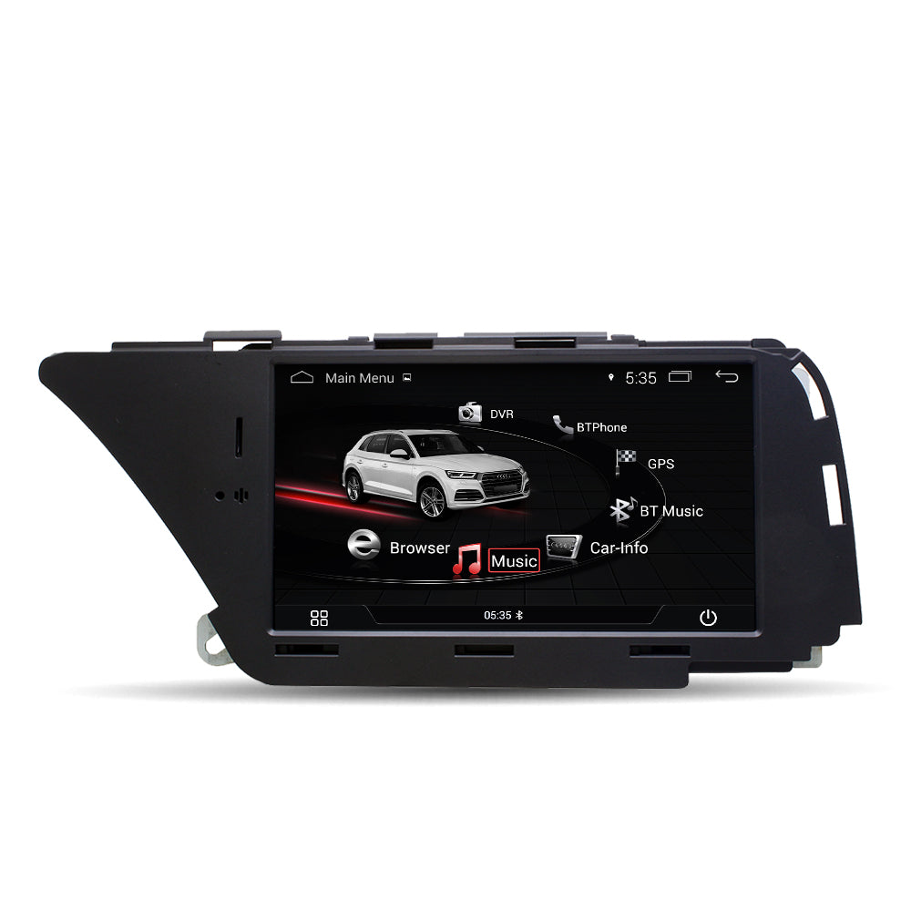 "Ecran tactile Autoradio Station Multimédia Navigation GPS 7 "" Six-Core Android 9.0 4G + 64G pour AUDI A4 S4 A5 Q5"