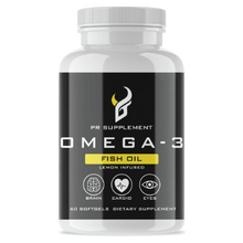 Load image into Gallery viewer, Omega-3 Ultra Strength Fish Oil