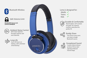 LOMA 85dB Safe Volume Headphone