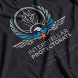United Nations Interstellar PROTECTORATE Powered by Khumalo Bioware - T-SHIRT, ALTERED CARBON