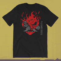 Cyberpunk SAMURAI (back and front print) T-Shirt