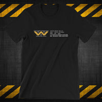WEYLAND-YUTANI SEARCH N DESTROY DIV - T-SHIRT