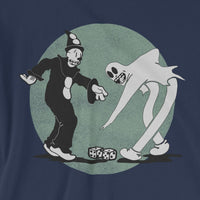 KOKO THE CLOWN Dancing with his Ghost - T-SHIRT