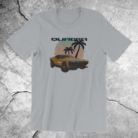 Cyberpunk 70s style T-shirt QUADRA type-66 muscle car - T-SHIRT