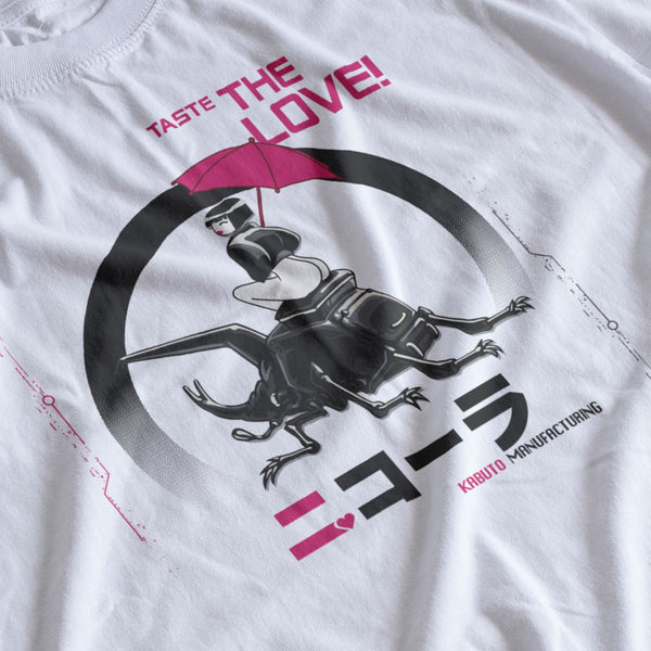 NiCOLA Taste the Love - Cyberpunk fictional pop drink - Can Graphic -  Japanese style  - T-SHIRT - 二 コ | ラ
