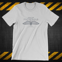 ALIEN USCSS PROMETHEUS Wings inspired T-shirt, Weyland Megacorp - T-SHIRT