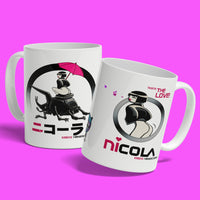 NiCOLA Taste the Love - White Mug