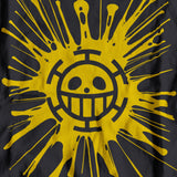 One Piece Luffy Trafalgar D. Water Law Heart Pirates Flag ハートの海賊団 - T-SHIRT