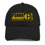 P5000 PWL OPERATOR - Distressed Dad Hat