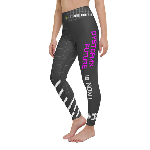 Cyberpunk DYSTOPIAN FUTURE Is NOW - Yoga Leggings