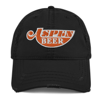 ASPEN BEER Distressed Dad Hat