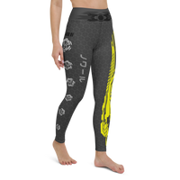 Hex Cyberpunk Yoga Leggings