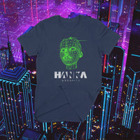 HANKA ROBOTICS - Ghost in the Shell - 3D Hologramic Face - T-SHIRT