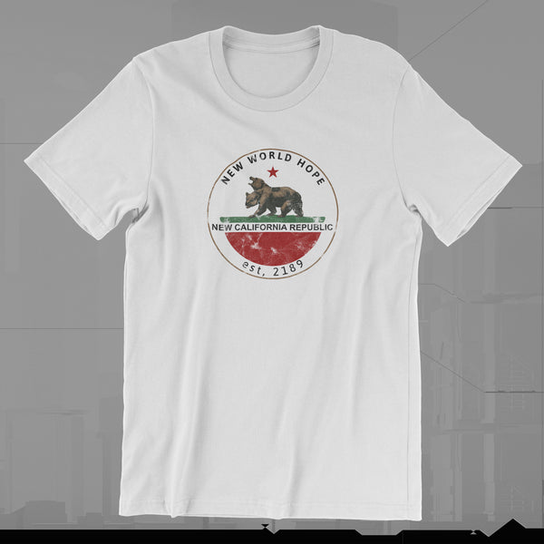NEW CALIFORNIA REPUBLIC - T-SHIRT