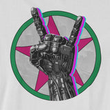 Johnny S I L V E R H A N D. Rock Band Cyberpunk - T-SHIRT