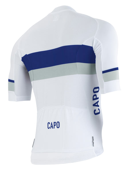 SC Race Stripe - White/Navy