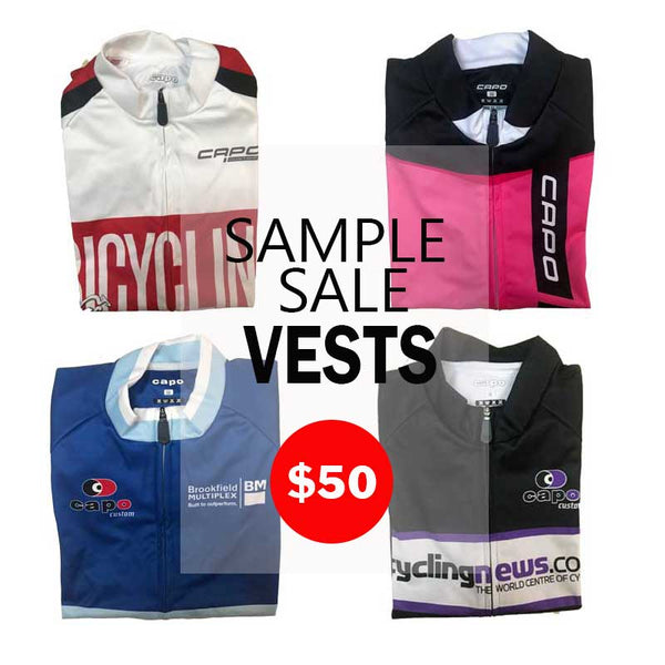 Sample Sale VESTS