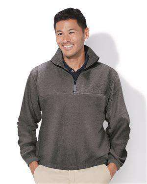 Brand: Sierra Pacific | Style: 3051 | Product: Quarter-Zip Fleece Pullover