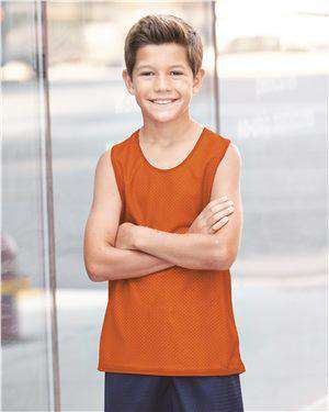 Brand: Badger | Style: 2529 | Product: Pro Mesh Youth Reversible Tank Top