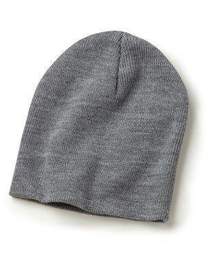 "Brand: Bayside | Style: 3810 | Product: USA-Made 8½"" Inch Knit Beanie"