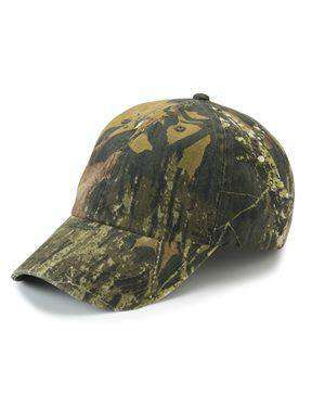 Brand: Outdoor Cap | Style: CGW115 | Product: Garment-Washed Camo Cap