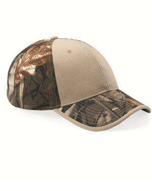 Brand: Kati | Style: LC102 | Product: Solid Front Camouflage Cap
