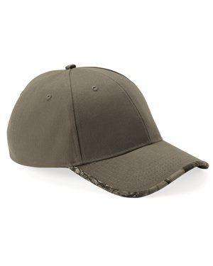 Brand: Kati | Style: LC26 | Product: Solid Cap with Camouflage Bill