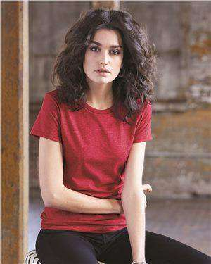 Brand: Anvil | Style: 880 | Product: Women's Lightweight Ringspun Tee