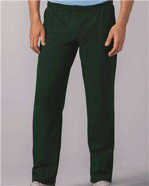 Brand: Gildan | Style: 18400 | Product: Heavy Blend Open Bottom Sweatpants