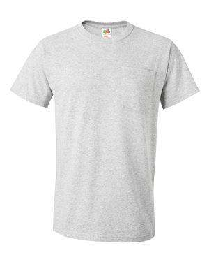 Fruit of the Loom Men's HD Cotton™ Pocket T-Shirt - 3930PR