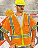 Brand: ML Kishigo | Style: 1242-1243 | Product: Ultra-Cool™ Mesh Surveyor's Vest