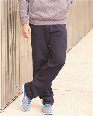 Brand: Champion | Style: P800 | Product: Double Dry Eco Open Bottom Sweatpants with Pockets