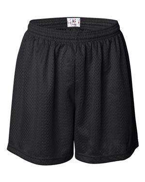 Badger Sport Women's Tricot Mesh Athletic Shorts