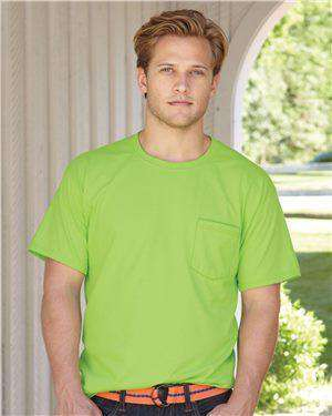 Brand: Hanes | Style: 5190 | Product: Beefy-T with a Pocket