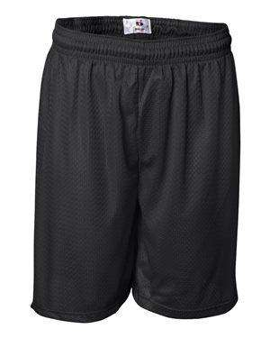 Badger Sport Men's Tricot Mesh Elastic Waist Shorts