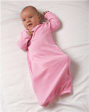 Brand: Rabbit Skins | Style: 4406 | Product: Infant Baby Rib Layette