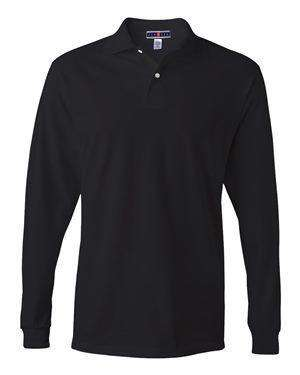 Jerzees Men's SpotShield™ Long Sleeve Polo Shirt - 437MLR